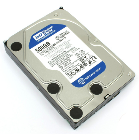 Ổ cứng 500GB Western Digital WD SATA Blue